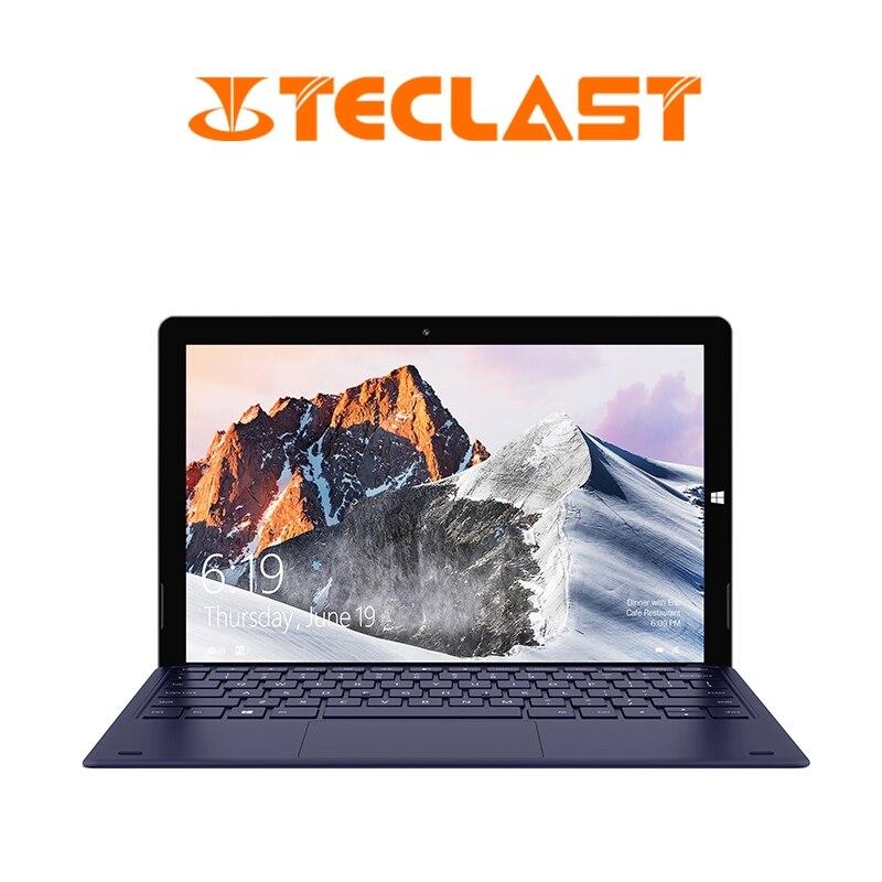 Teclast x6 pro 2 em 1 tablet 8 gb ram 256 gb ssd 12.6 Polegada 1920*2880 fhd ips intel M3-7Y30 windows 10 tela de toque tablet usb3.0