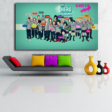 My Hero Academia Class 1 A Student Wallpaper Canvas Posters Prints Wall Art Painting Decorative Picture Modern Home Decoration