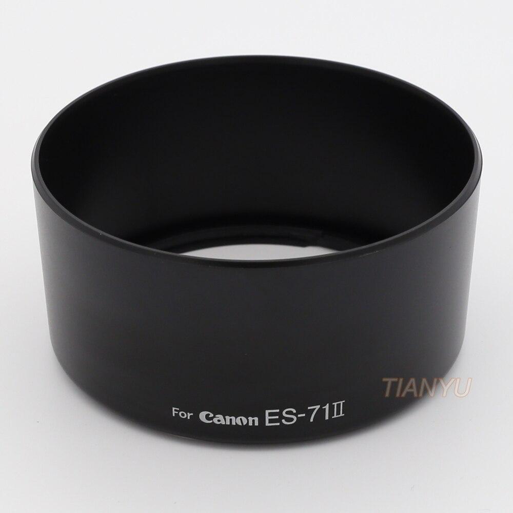 ES-71 II ES-71II Lens Hood for Canon EF 50mm f//1.4 USM Block Rain Wind Snow Camera Accessories Special Hood