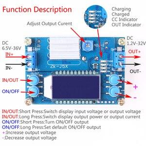Image 2 - Passo Imbottiture Buck Converter DC DC 1.2 32V 5A Costante Tensione Corrente LCD Display Digitale Regolabile Buck Alimentazione bordo del modulo