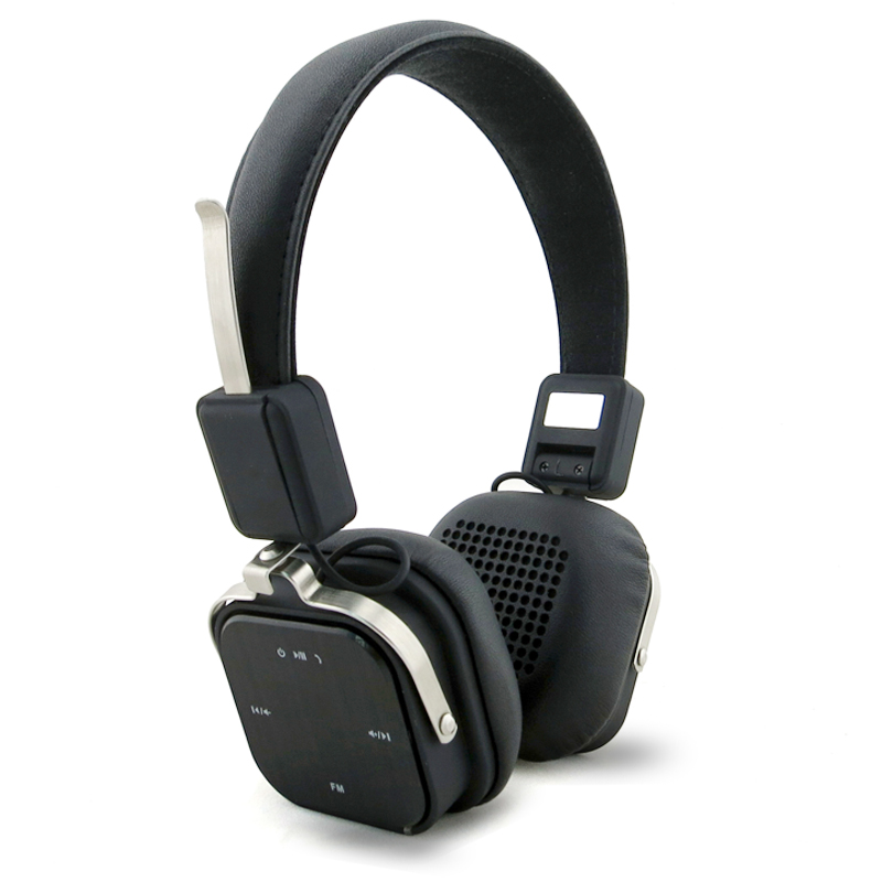 ФОТО BHP-1501 Foldable NFC Headphones Wireless Bluetooth 4.1 Game Music Headsets with FM Radio Microphone For iPhone Xiaomi phones PC