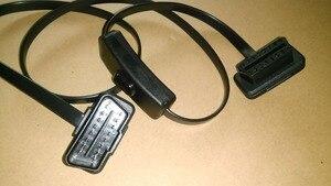 Image 4 - Câble OBD2 mâle à femelle de 60cm/1m, connecteur dextension de Diagnostic pour ELM327