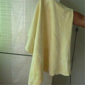 Image 4 - 60*90cm toalhas de lavagem de carro couro camurça natural pano de limpeza de carro super absorvente rápida toalha seca para carros móveis de casa