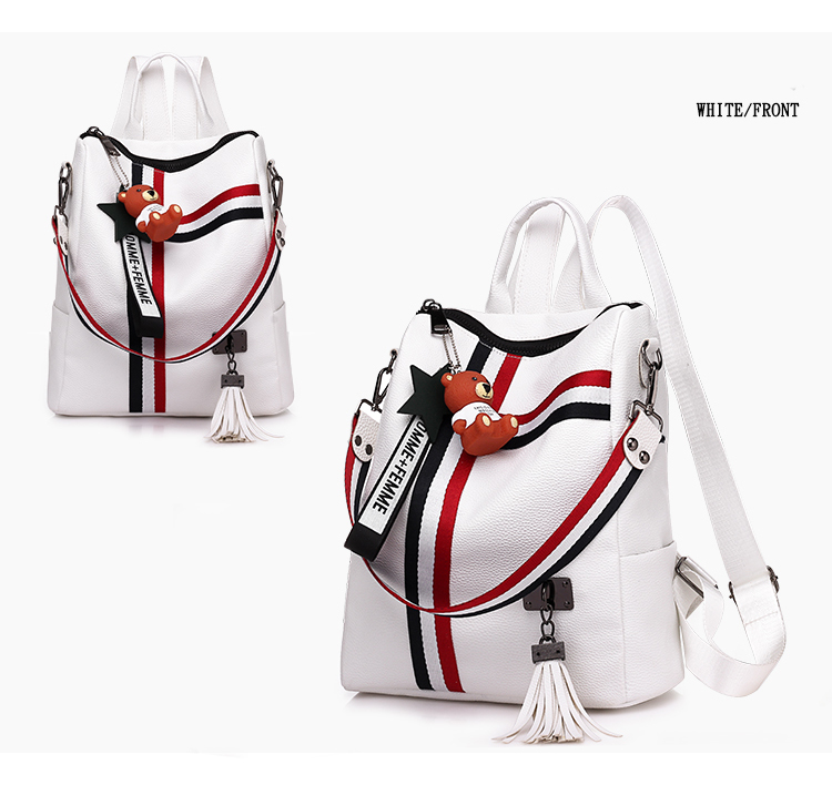 2018 New Retro Fashion Ladies Backpack 0020