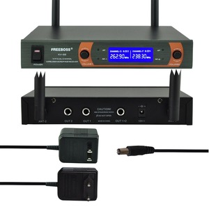 Image 3 - Freeboss KV 22 VHF 2 Handheld Wireless Microphone Dynamic Capsule Family Party Mixed Output  Wireless Microphone