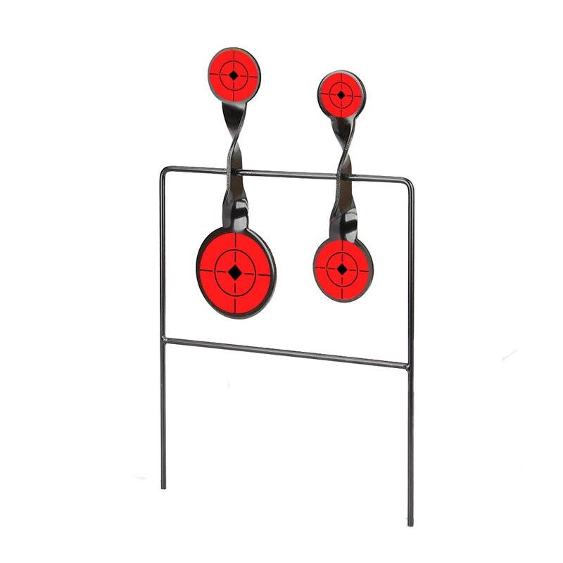 Bull's-Eye Target Shooting Target 27x3x43cm Iron Target For Outdoor Sport Gs36-0014