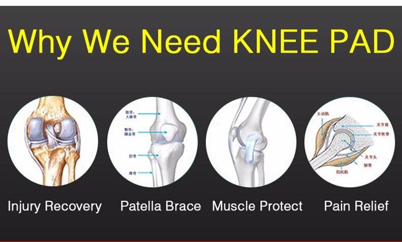 HTB1fDGLNVXXXXaCXFXXq6xXFXXXe - Kuangmi 1 PC Compression Knee Sleeve Basketball Knee Pads Knee Support