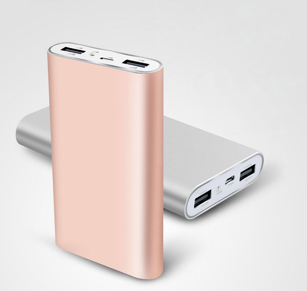 High Capacity Power Bank 10400mah Portable External Battery Charger Backup Power Charging For