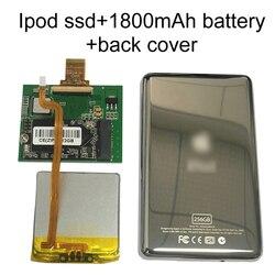 Nueva unidad SSD 128G 256G 512G para Ipod classic 7Gen 7th 160GB Ipod video 5th reemplazar MK3008GAH MK8010GAH MK1634GAL Ipod HDD disco duro