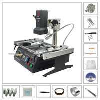 Infrared Rework Soldering Stations IR6500 BGA repair machine with 810pcs directly heating stencils