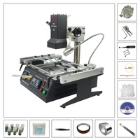 Infrared Rework Soldering Stations IR6500 BGA repair machine with 810pcs directly heating stencils