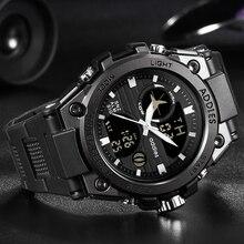 Luxus Schwimmen Uhr Digitale Männer Sport Uhren 30M LED Sport Uhr Männer Wasserdicht Herren Sport Uhren Mann der Mode armbanduhr