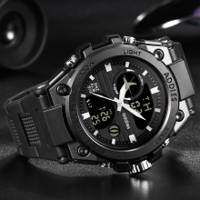 New Style Fashion Military Men Sports Watches 50M Waterproof Luxury Sp