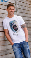 Funny Tee Shirts Men'S Crew Neck Rock Music Pink Floyd The Wall Roger Waters White Short Sleeve Compression T Shirts