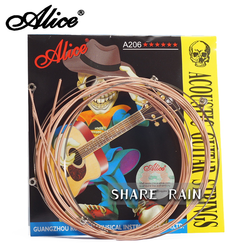 A 206 OriginalaliceBallad Wooden guitar strings1 strings1-6 Strings