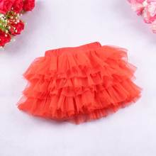 Baby Girl Clothes Princess Tutu Skirt Girls Kids Party Ballet Dance Wear Candy Color Pettiskirt