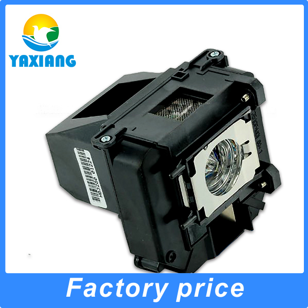 ФОТО The high brightness projector Lamp with housing Compatible  for  EB-C2050WN  Projector Lamps ELPLP61