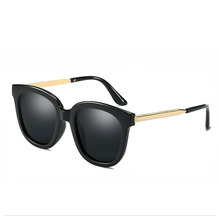 A senhora deputada Vitória Moda Espelho Plano Lente Polarizada Óculos De Sol  Das Mulheres Dos Homens Clássico Marca Designer Ócu. d2601dc31b