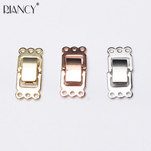 1pcs DIY Jewelry Accessories simple Multi-row wristwatch buckle Pearl necklace Bracelets accessories Three color optional