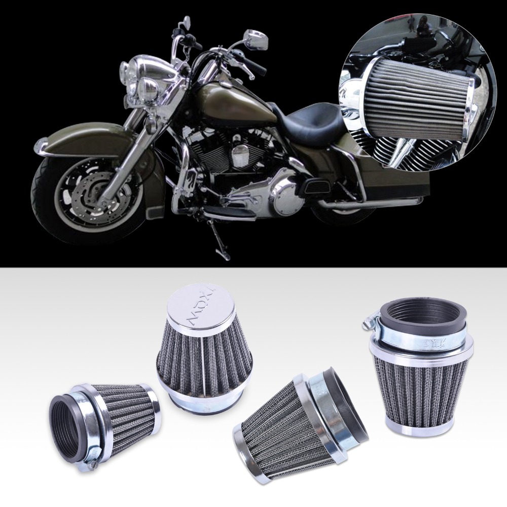 DWCX New 4pcs <font><b>54mm</b></font> <font><b>Air</b></font> <font><b>Filter</b></font> Intake Cleaner For Honda CB750 CB900 CB1000 1979 1980 1981 1982 Suzuki GS700 GS750 GS850 ATV Dirt image