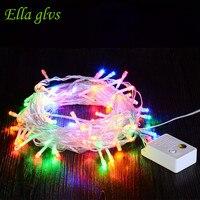 Led Christmas Light 20 M Ngoài Trời Không Thấm Nước AC220V 110 V US/EU Cắm Giáng Garland Cho Đảng Trang Trí đám cưới
