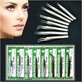 Individual Eyelash Extension Tweezers Stainless Mink Volume Eyelashes Lashes Tweezer Vetus Lash Pincet Makeup Pinzas Cejas Tools