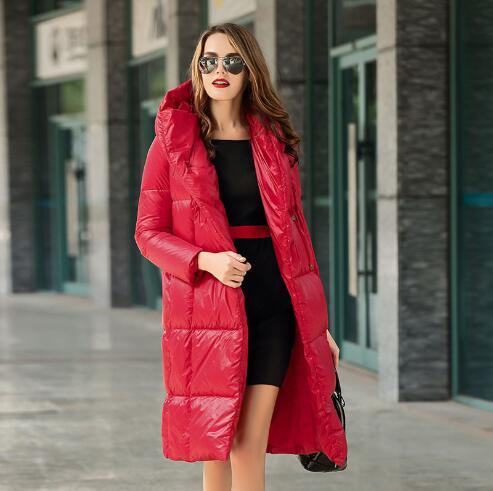 De Bas Capuchon Chaud Le Occasionnel Mode Outwear Black Femelle Femmes Parkafr3028 Manteau Des Long Oversize Épaississement Style À Doudoune Slim Fit D'hiver Vers fA8Hwftq