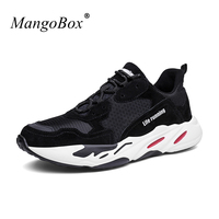 Mangobox Women Men Running Shoes Comfortable Couples Sport Running Shoes Black Popular Walking Jogging Sneakers Cheap