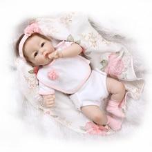 [SGDOLL] 20″ Handmade Newborn Girls Baby Vinyl Silicone Realistic Reborn Dolls With Clothes 16032627