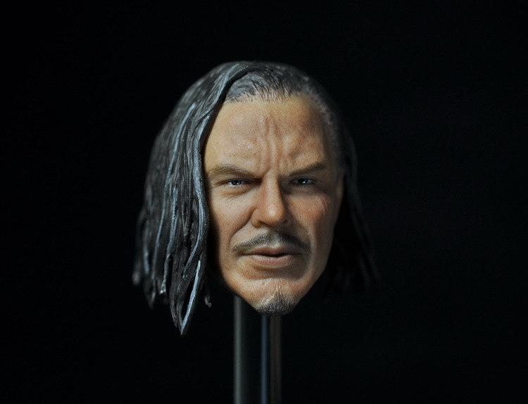 "1/6 <font><b>figure</b></font> doll head <font><b>shape</b></font> for 12"" <font><b>action</b></font> <font><b>figure</b></font> doll accessories Iron <font><b>Man</b></font> Mickey Rourke Head carved not include body,clothes"