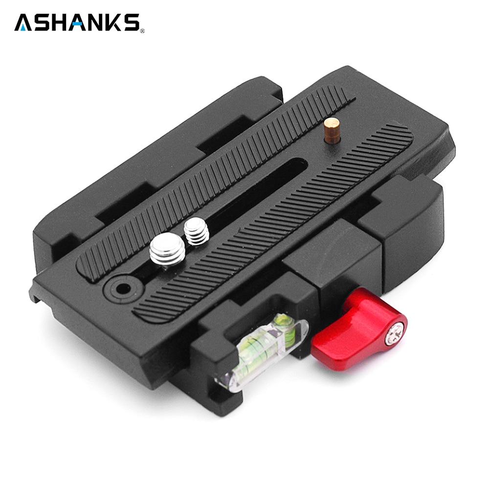 ASHANKS Schnellwechselplatte 577 Schnelle Verbinden Adapter für Fotografie Video Kamera Compat Manfrotto 577/501PL/500AH/701HDV/561B