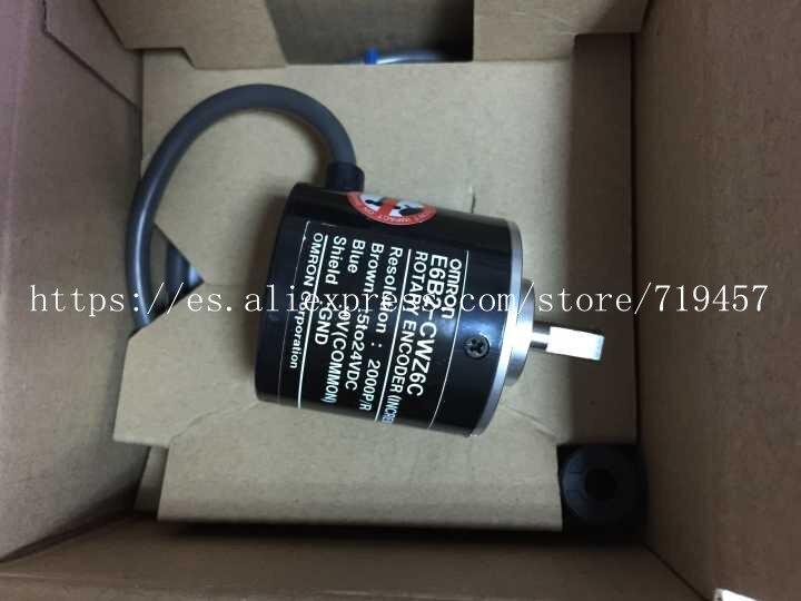 Fst  New in box  Omron Rotary Encoder E6B2-CWZ6C 2000P//R