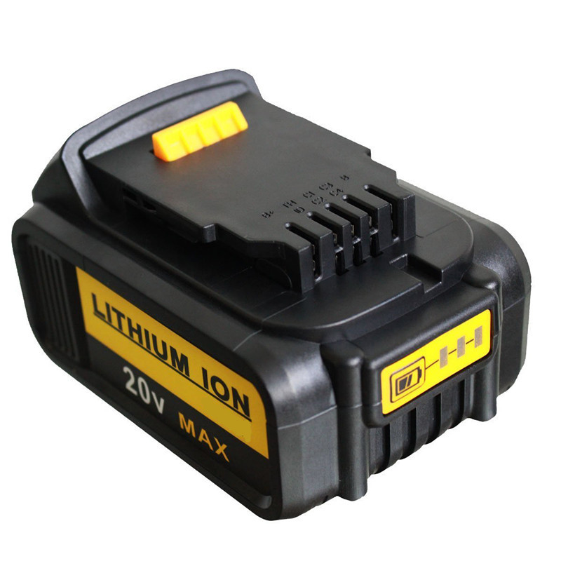 NEW 2X 5000mAh 20V Battery For Dewalt 20V Replacement Battery for DCB200 DCB181 DCB183 DCB182 DCB204-2 Li-ion new arrival 14 4v 4 0ah li ion replacement battery for hitachi bsl1430 bsl1415 326236 327729 326824 326823 bcl1430 c 2 wholesale