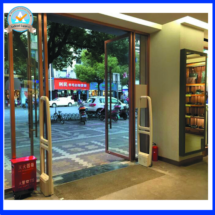 58Khz eas system antenna am anti theft devices for retail stores ,supermarket security guard with sound and light
