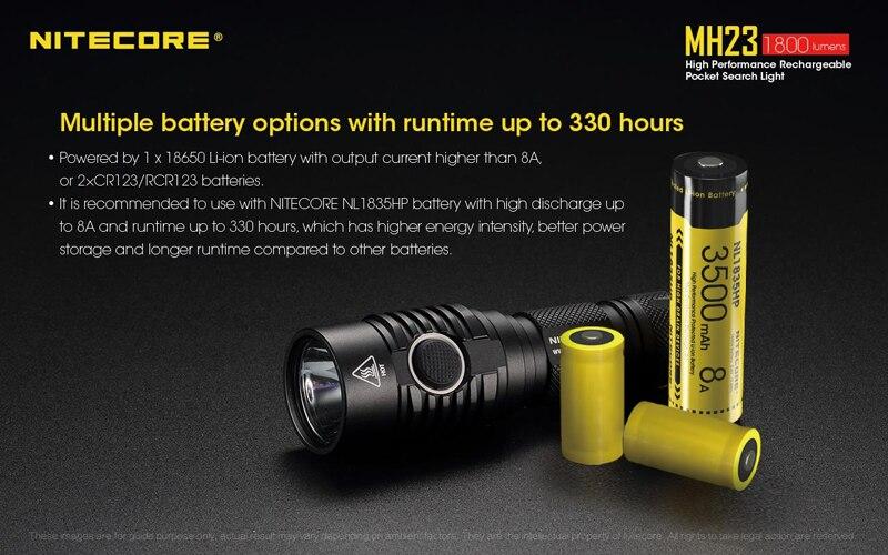 Nitecore MH23 Pocket Search Light (5)