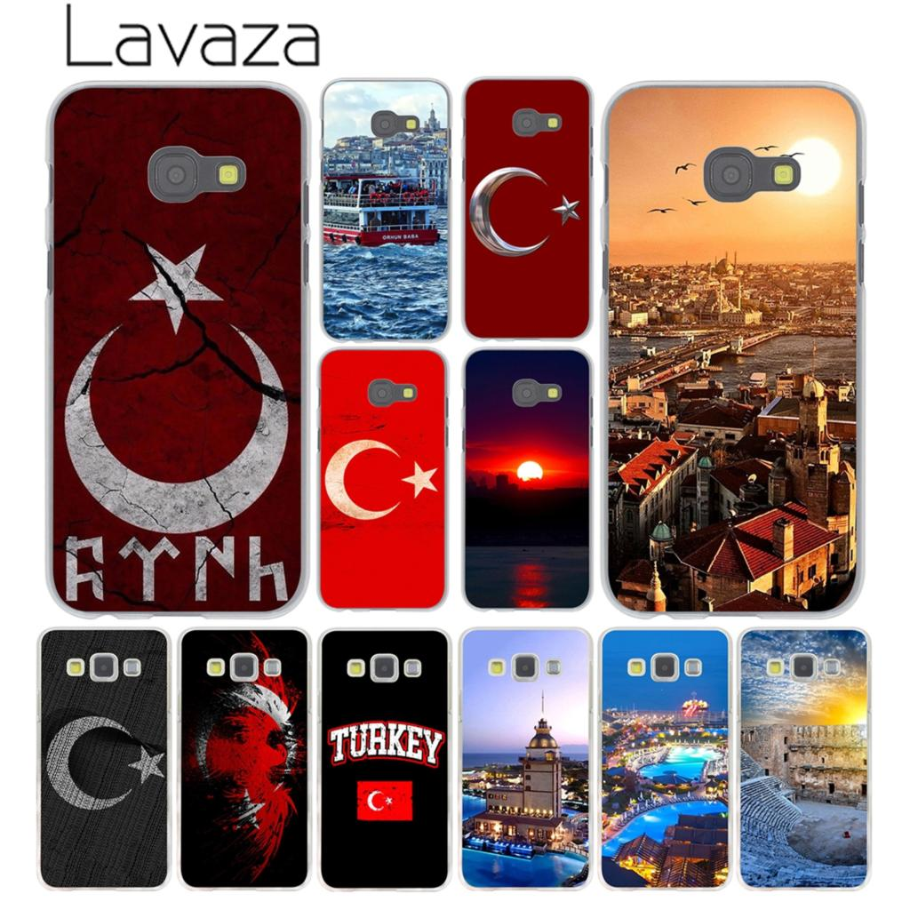Lavaza Flag of Turkey Istanbul Antalya Phone Case for Samsung Galaxy A3 A7 A8 A5 2015 2016 2017 2018 Note 8 5 4 3 Grand Prime 2