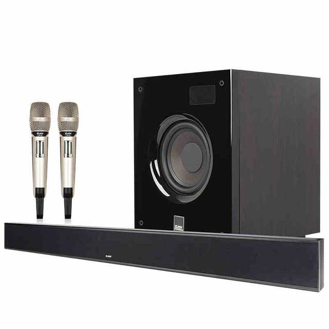cav alk210 home theater system 3 1 channel dts trusurround sound home theatre with microphones speaker combination music center