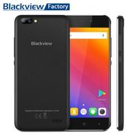 حار بيع blackview a7 الروبوت 7.0 الهاتف الذكي المزدوج كاميرا الخلفية رباعية النواة 5.0 بوصة hd ips الهواتف 1 جيجابايت 8 جيجابايت gps wifi 3 جرام موبايل