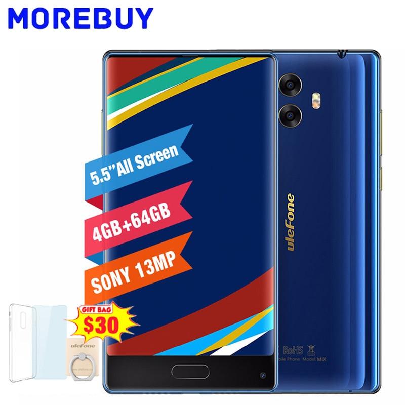 Ulefone Mix 4G HD Mobile Phone MTK6750T Octa Core Smartphone Android 7 0 4GB RAM 64GB