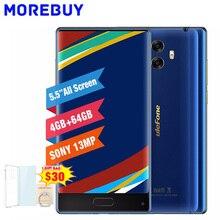 Ulefone Mix 4 г HD мобильный телефон mtk6750t восьмиядерный смартфон Android 7.0 4 ГБ Оперативная память 64 ГБ Встроенная память 5.5 дюймов отпечатков пальцев 13MP двойной Камера