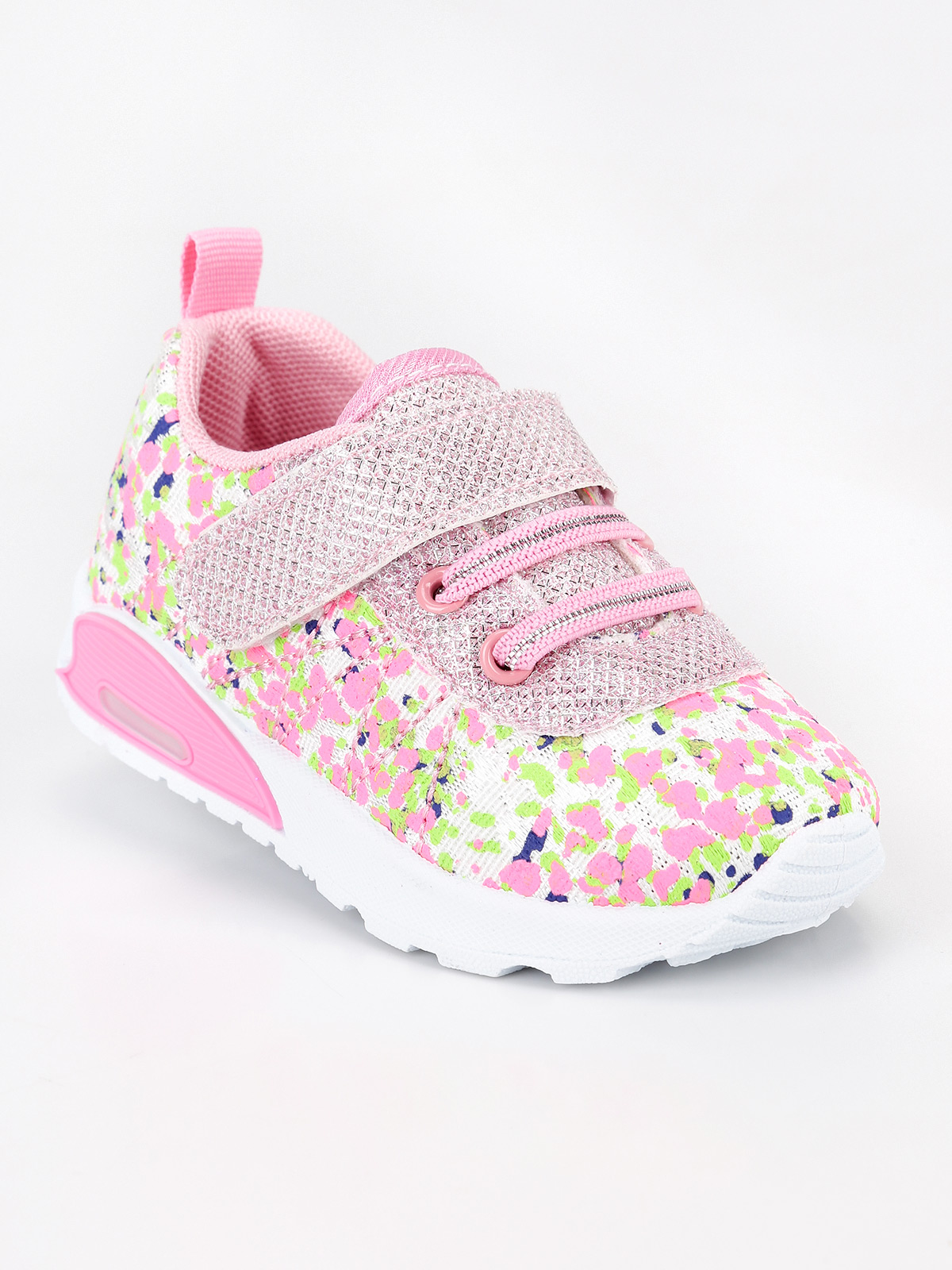 Sneakers With Lights Girl-pink