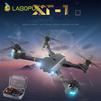 lagopus Drone WIFI with HD Camera Foldable RC Mini Drone Quadcopter Dron Remote Control Helicopter Aircraft