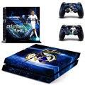 Footall Superstart Криштиану Роналду PS4 Кожи Для Sony Playstation 4 PS4 Консоли защитной пленки и Покрытия Отличительные Знаки 2 Контроллер