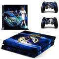 Footall Superstart Cristiano Ronaldo PS4 Skin For Sony Playstation 4 PS4 Console protection film and Cover Decals 2 Controller