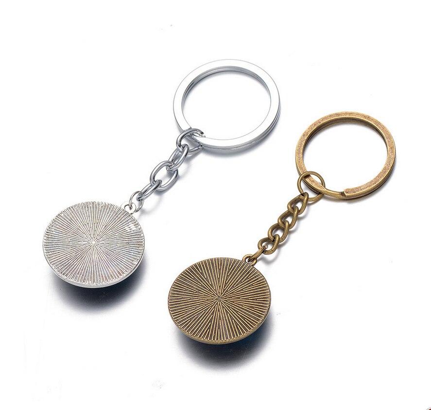 Nowy blask i połysk brelok do kluczy, ręcznie szkło Cabochon łańcuch wisiorek brelok do kluczy, dziewczyna naszyjnik Party dobrodziejstw
