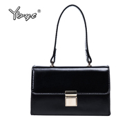 YBYT Brand Vintage Casual Women Satchel PU Leather Luxury Top Handle Bag Ladies Messenger Package Female