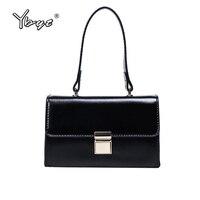 YBYT Brand Vintage Casual Women Satchel PU Leather Luxury Top Handle Bag Ladies Messenger Package Female