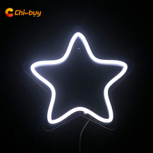 White LED Star Sign Led Light