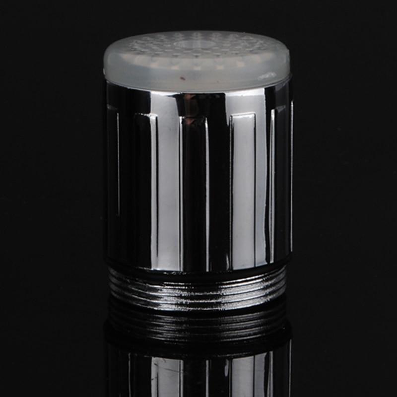 Светодиодные водопроводный кран головок Термометры RGB Glow светодиодный душ поток Ванная комната смеситель для душа 3 цвета Изменение