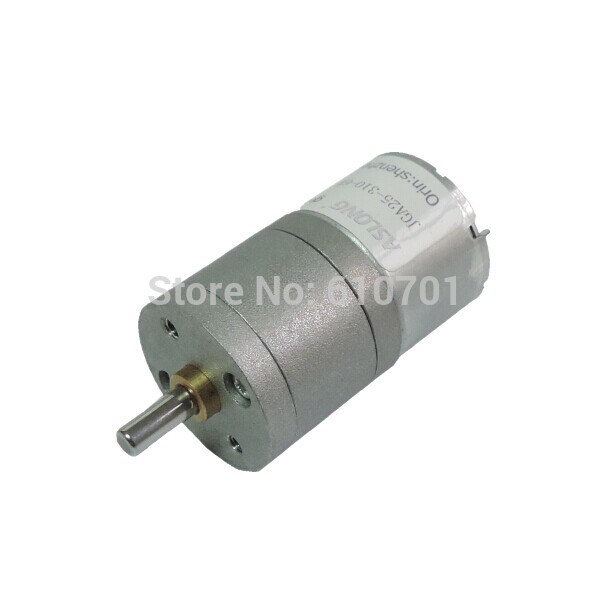 25mm 6V 12VSpeed Redue Electric DC Geared Motor JGA25-310 7/9/15/16/20/21/34/35/44/46/77/102/177/211/235/375/484/795/862/1818rpm